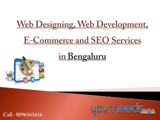 Web Development in Bengaluru, Website Designing Company, SEO