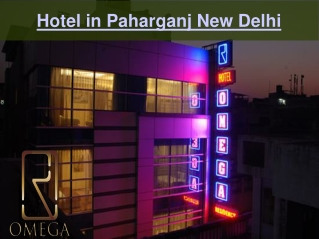 Hotel in Paharganj New Delhi
