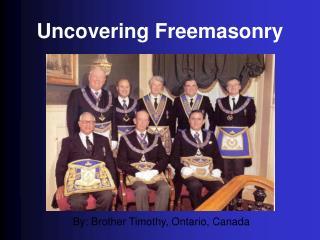 Uncovering Freemasonr y