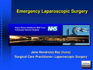 Emergency Laparoscopic Surgery