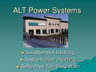 ALT Power Systems