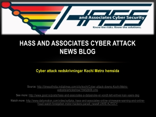 Hass and Associates Cyber Attack News Blog: Cyber attack ned