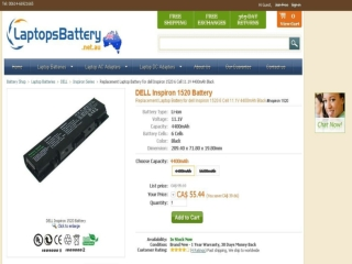 Choosing the Right Dell Inspiron 1520 Battery