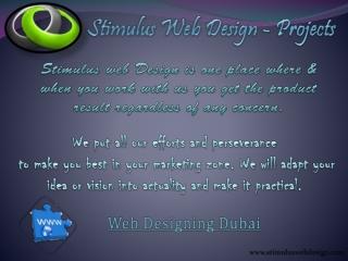Stimulus web design Projects