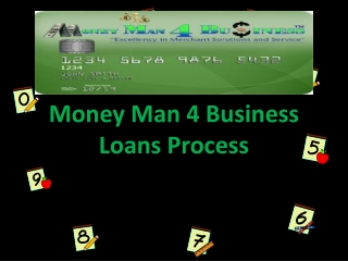 Money Man 4 Business Loans Process