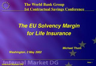 The World Bank Group 1st Contractual Savings Conference
