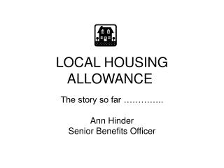 LOCAL HOUSING ALLOWANCE