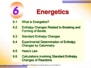 What is energetics