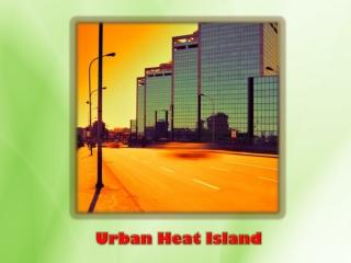 Urban Heat Island and Global Warming