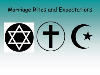 Marriage Rites and Expectations