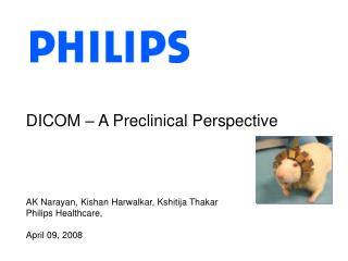 DICOM   A Preclinical Perspective
