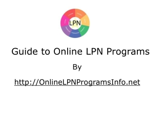 Essential Guide to Online LPN Programs