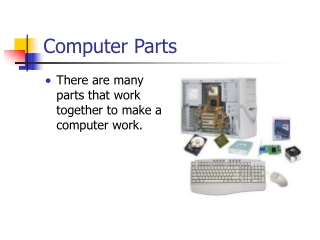 parts of computers