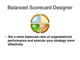 Balanced Scorecard Designer