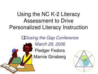Using the NC K-2 Literacy Assessment to Drive Personalized ...