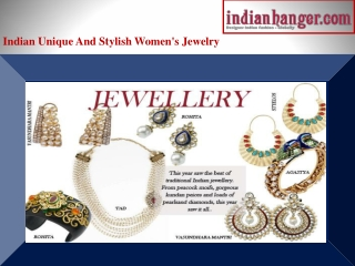 Indian Jewellery - Buy exquisite Indian Jewellery from India