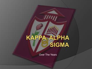 Kappa Alpha Sigma