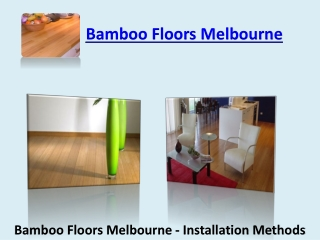Bamboo Floors Melbourne