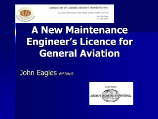 A New Maintenance Engineer