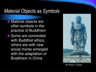 Material Objects as Symbols