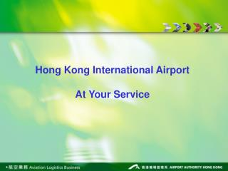 Hong Kong International Airport Air Cargo