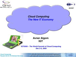 IGT Cloud computing Work Group