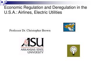 Economic Regulation and Deregulation in the U.S.A.: Airlines ...