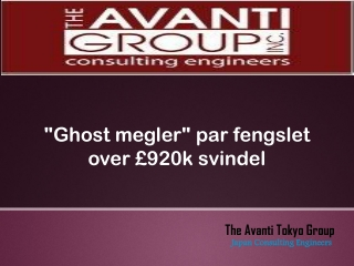"""""""Ghost megler"""" par fengslet over £920k svindel"""