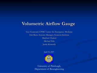 Volumetric Airflow Gauge