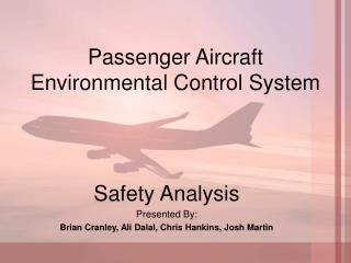Passenger Aircraft Environmental Control System