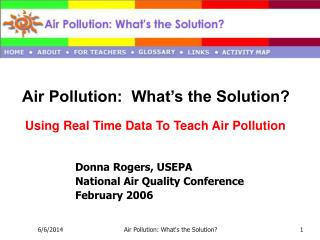 Air Pollution: What