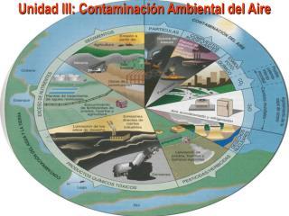 Unidad III: Contaminaci