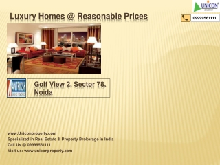 Antriksh Golf View 2 | 9999561111| noida
