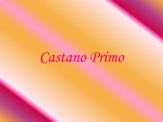 Castano Primo