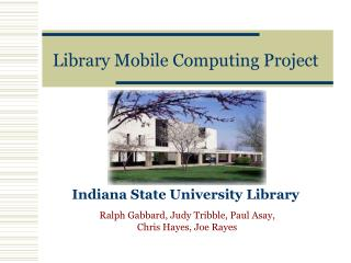 Library Mobile Computing Project