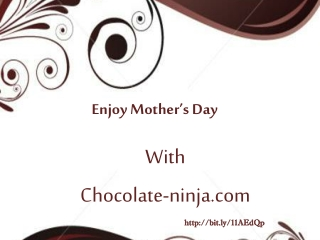 Order Yummy Mothers Day Chocolate For Your Grandmother