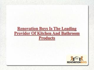 Renovation Boys