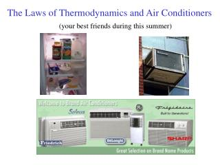 Thermodynamics and Air Conditioners - Physics