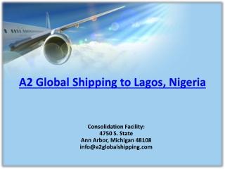 Air Cargo Freight Rates USA to Nigeria