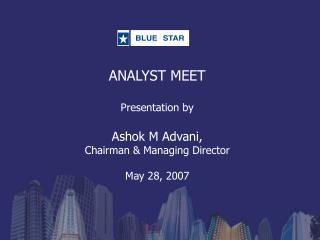 Analyst Meet Presentation 07-08