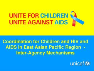Children and AIDS as Emergency Issues in Asia