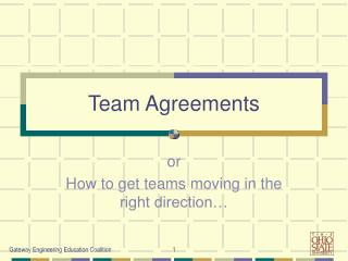 Team Agreements