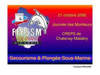Secourisme  Plong e Sous-Marine