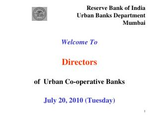 Reserve Bank of India n