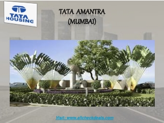 Tata Amantra the Life Begins From Here