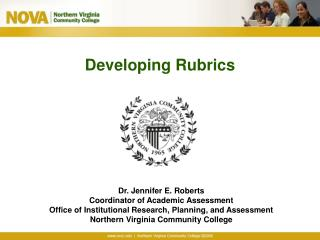 Developing Rubrics