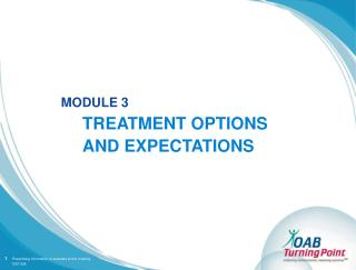 TREATMENT OPTIONS