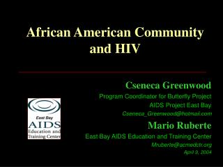 African American Community and HIV