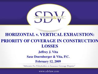 Horizontal v. Vertical Exhaustion   Views