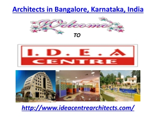 Architects in Bangalore, Karnataka, India
